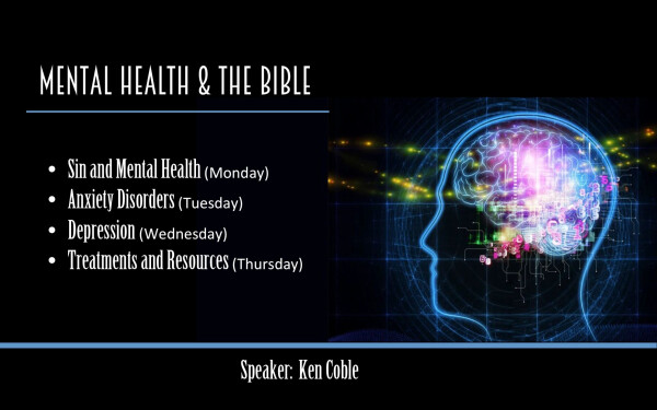 Series: Mental Health and the Bible