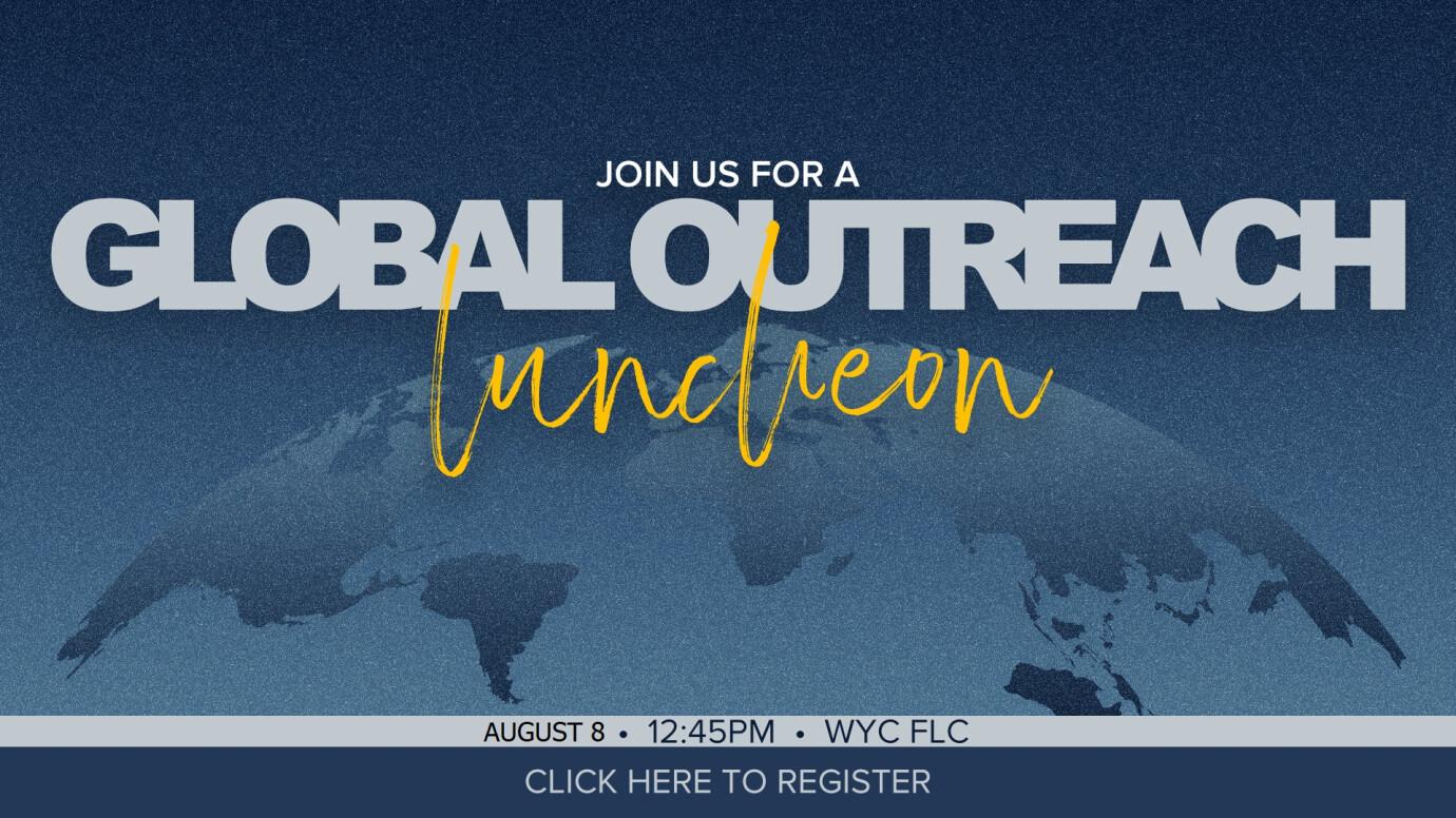 Global Outreach Luncheon - Jiten/Rebecca
