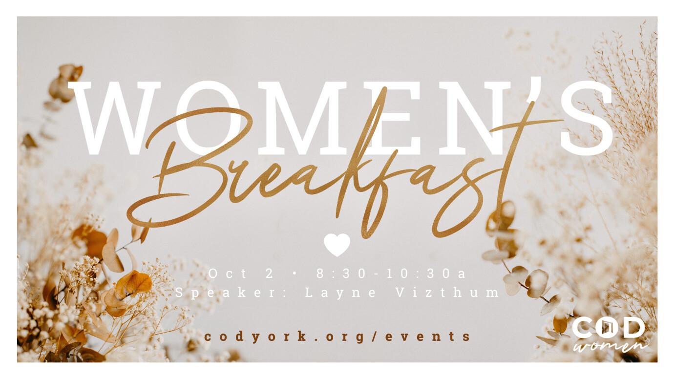 Women's Monthly Breakfast