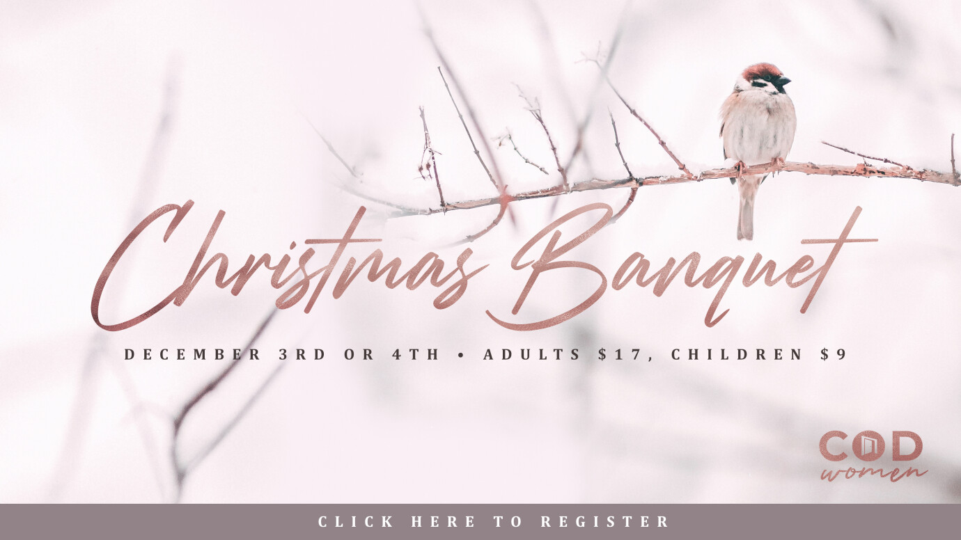 Women's Christmas Banquet | Fri or Sat